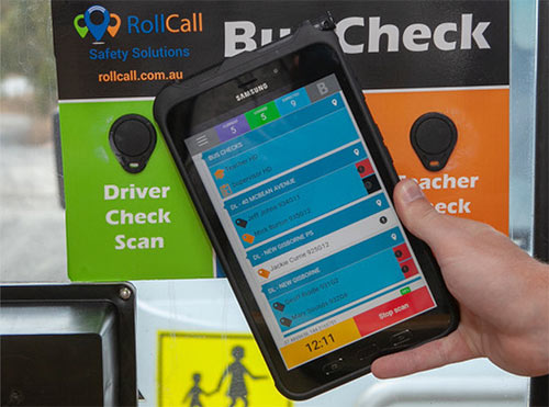 roll call bus management system